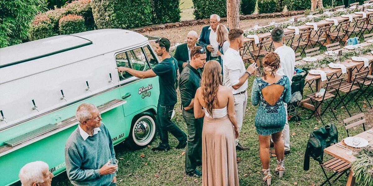 Kombi Keg wedding caterer