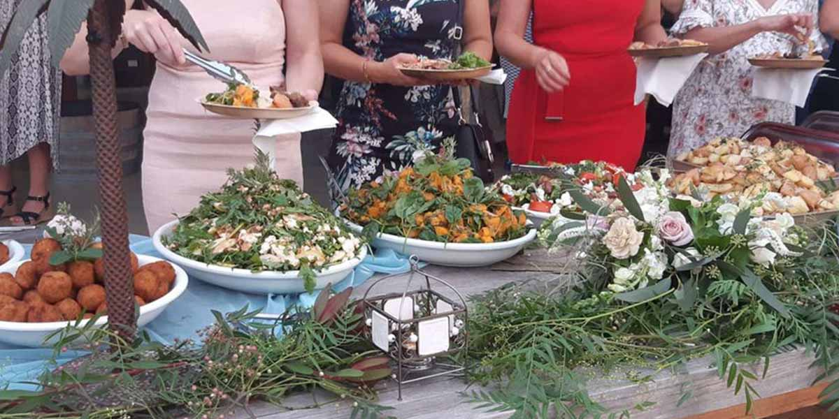 The Grecian Kitchen wedding caterer